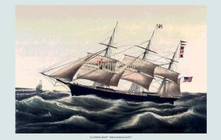 Clipper Ship - the Dreadnought